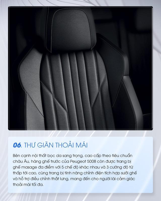 10 lý do Peugeot 5008 trong tim người dùng Việt - Ảnh 6.