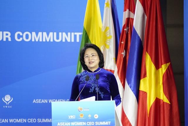 Hội nghị thượng đỉnh doanh nhân nữ ASEAN và các nữ tướng Việt - Ảnh 1.
