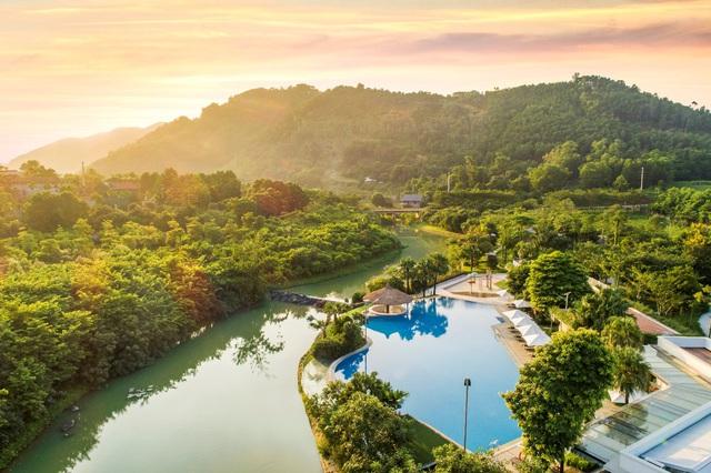 Trải nghiệm hệ thống tiện ích resort cao cấp tại Xanh Villas - Ảnh 1.