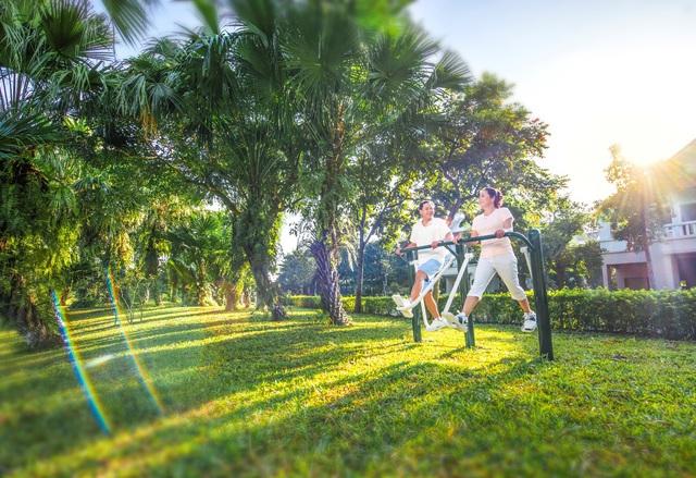 Trải nghiệm hệ thống tiện ích resort cao cấp tại Xanh Villas - Ảnh 3.