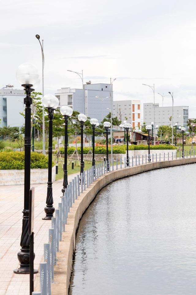 Nhịp sống sôi động tại  Khu Đô Thị Mới Hà Tiên sau hơn 1 năm gấp rút thi công - Ảnh 4.