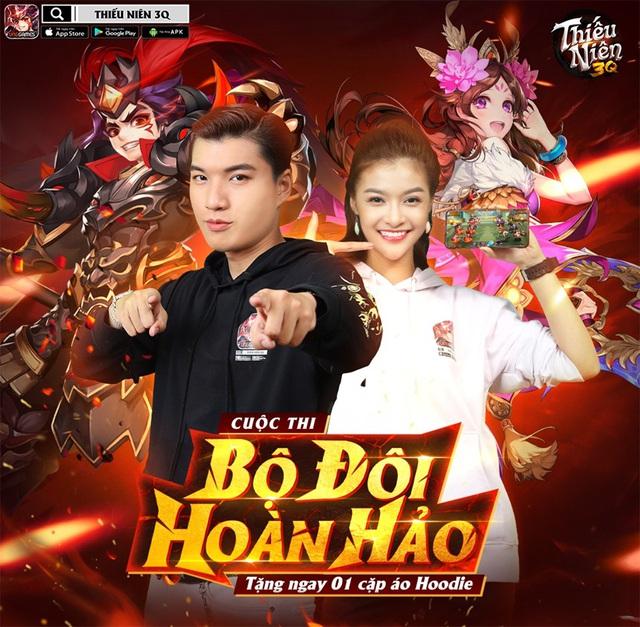 """Hieuthuhai & Lona Kiều Loan cũng được xem là """"Bộ đôi hoàn hảo"""" của Thiếu Niên 3Q."""