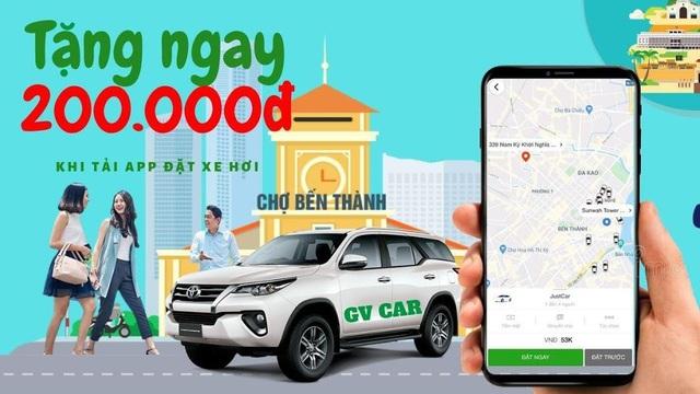 GV Taxi: nhiều lựa chọn đặt xe trong một ứng dụng công nghệ - Ảnh 1.