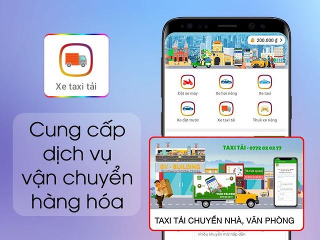 GV Taxi: nhiều lựa chọn đặt xe trong một ứng dụng công nghệ - Ảnh 2.