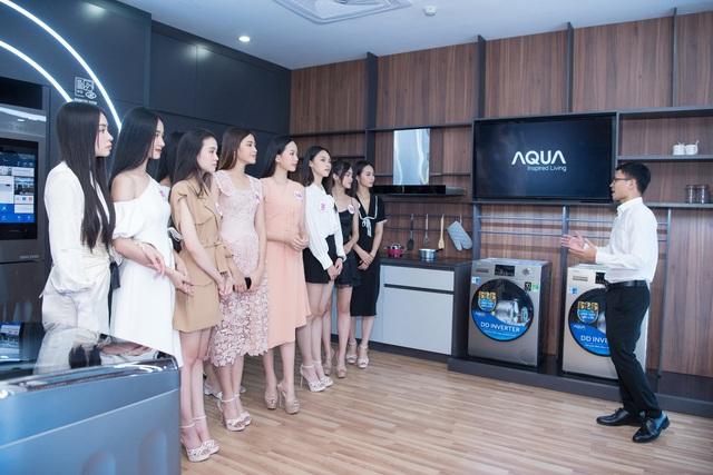 AQUA Việt Nam chào mừng Top 35 thí sinh HHVN 2020 tham quan nhà máy tại Đồng Nai - Ảnh 2.