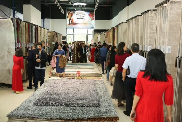 Khai trương showroom Thảm Hán Long: Vô vàn ưu đãi cho đối tác và người tiêu dùng - Ảnh 3.
