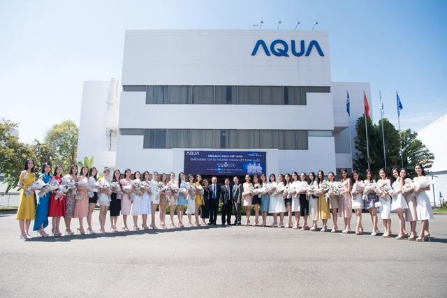 AQUA Việt Nam chào mừng Top 35 thí sinh HHVN 2020 tham quan nhà máy tại Đồng Nai - Ảnh 3.