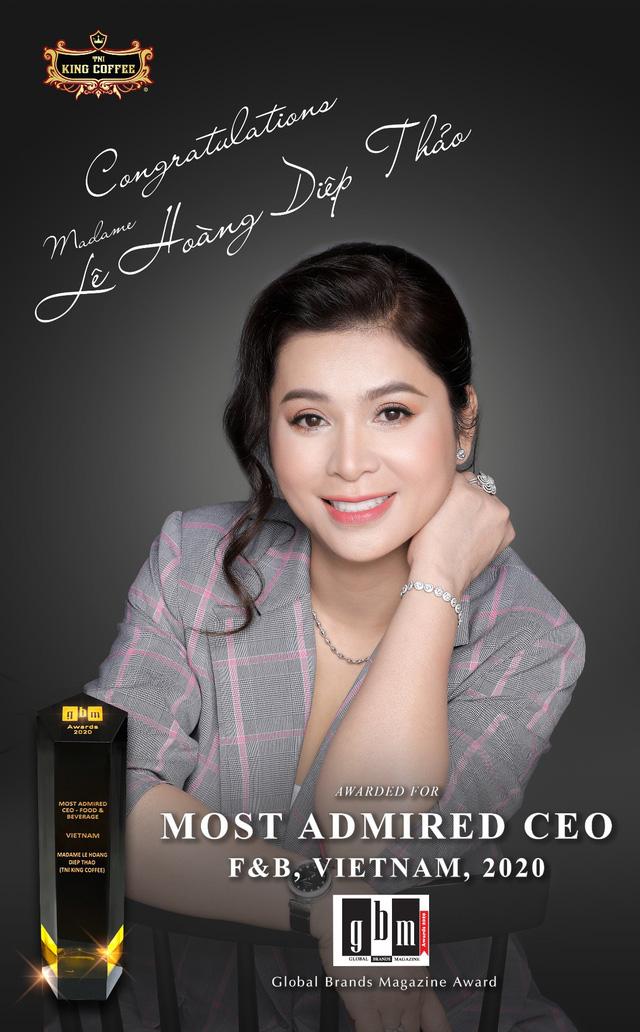 Nữ CEO đầu tiên trong ngành cà phê Việt Nam nhận giải thưởng Nữ CEO truyền cảm hứng toàn cầu - Ảnh 4.