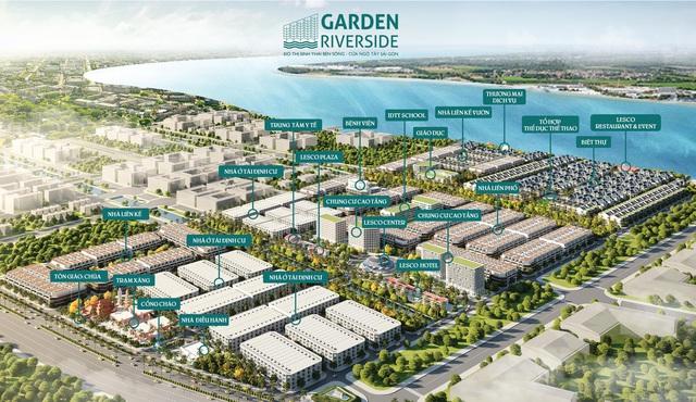 Garden Riverside: Tận hưởng chất lượng sống sinh thái bên sông - Ảnh 1.