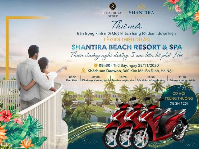 Khách hàng Thủ đô hào hứng chào đón dự án Shantira Beach Resort & Spa - Ảnh 1.