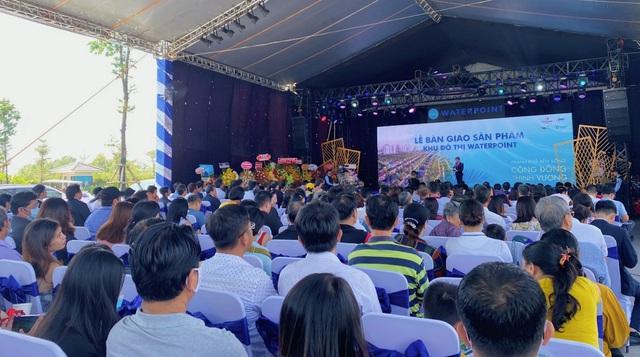 Nam Long (HOSE: NLG) bàn giao sản phẩm đầu tiên thuộc Khu đô thị Waterpoint - Ảnh 1.