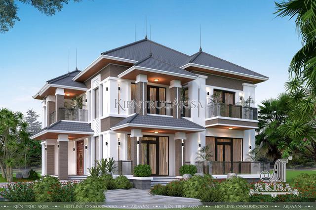 Top 6 mẫu biệt thự hiện đại đang được ưa chuộng hiện nay - Ảnh 1.