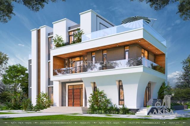 Top 6 mẫu biệt thự hiện đại đang được ưa chuộng hiện nay - Ảnh 2.