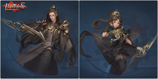 Thần Cơ tái xuất với hai kiểu hình Nam tiêu chuẩn và nữ Loli.