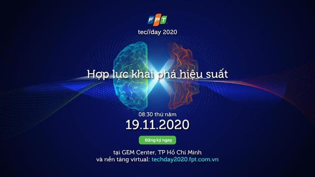 Những trải nghiệm đột phá cho doanh nghiệp tại FPT Techday 2020 - Ảnh 1.
