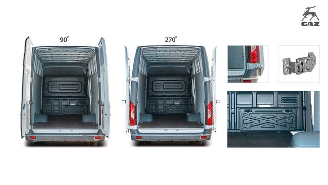 GAZelle NEXT  VAN – Sản phẩm tải Van nhập khẩu nguyên chiếc từ Châu Âu - Ảnh 1.