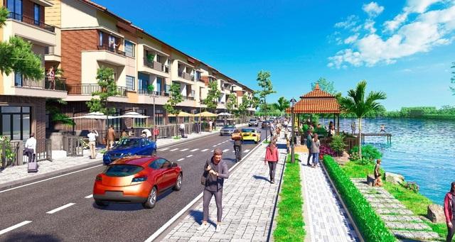 KĐT VSIP Bắc Ninh ra mắt dự án nhà phố ven sông hấp dẫn nhà đầu tư - Ảnh 1.