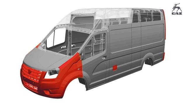 GAZelle NEXT  VAN – Sản phẩm tải Van nhập khẩu nguyên chiếc từ Châu Âu - Ảnh 3.