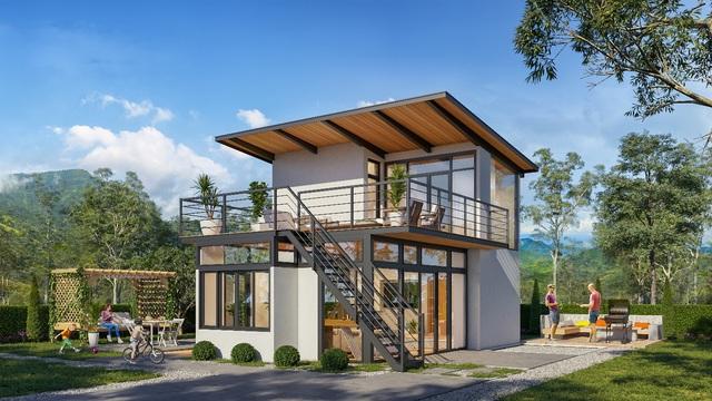 Ấn tượng với loạt homestay thiết kế theo phong cách châu Âu tại Jade Garden Hill – Bảo Lộc - Ảnh 1.