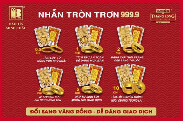 Cơ hội đổi vàng thị trường sang Vàng Rồng Thăng Long được giá tốt - Ảnh 1.