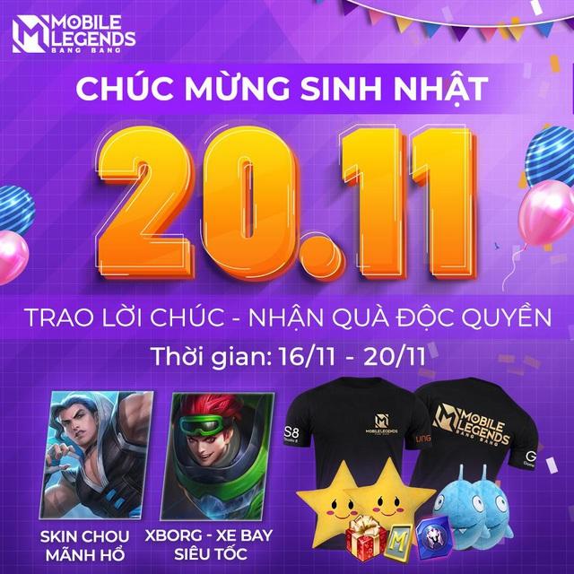 Bùng Nổ Sinh Nhật Mobile Legends: Bang Bang VNG Photo-1-16057748333121502515243
