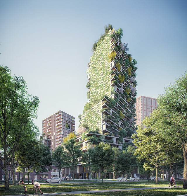 Việt Nam sẽ có dự án lọt top các toà tháp xanh cao bậc nhất thế giới - Ảnh 1.