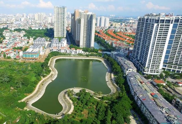 Biệt thự, liền kề cao cấp tại Hà Đông thu hút giới nhà giàu - Ảnh 2.