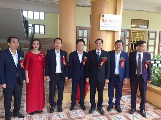 PV GAS tài trợ xây dựng Trường THCS Đông Á, Thái Bình - Ảnh 2.