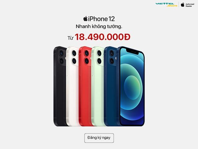 Đặt cọc iPhone 12 Series: Viettel Store chính thức ưu đãi độc quyền 50GB iCloud miễn phí 1 năm - ảnh 2