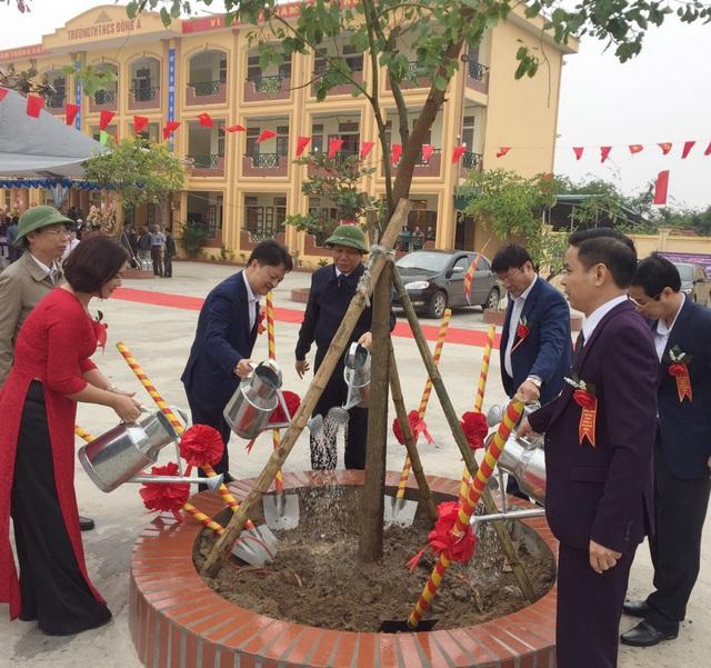 PV GAS tài trợ xây dựng Trường THCS Đông Á, Thái Bình - Ảnh 3.