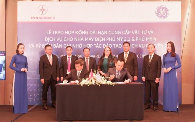 EVNGENCO 3 và GE ký kết hợp đồng cung cấp vật tư và dịch vụ cho nhà máy điện Phú Mỹ 2.1, Phú Mỹ 4 - Ảnh 3.