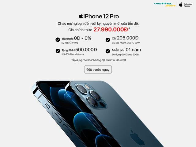 Đặt cọc iPhone 12 Series: Viettel Store chính thức ưu đãi độc quyền 50GB iCloud miễn phí 1 năm - ảnh 4
