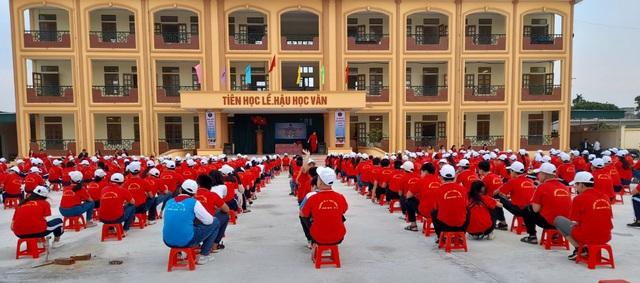 PV GAS tài trợ xây dựng Trường THCS Đông Á, Thái Bình - Ảnh 4.