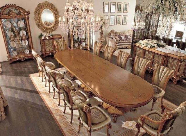 Khẳng định phong cách sang trọng với bàn ăn cổ điển tại nội thất Emporio - Ảnh 1.