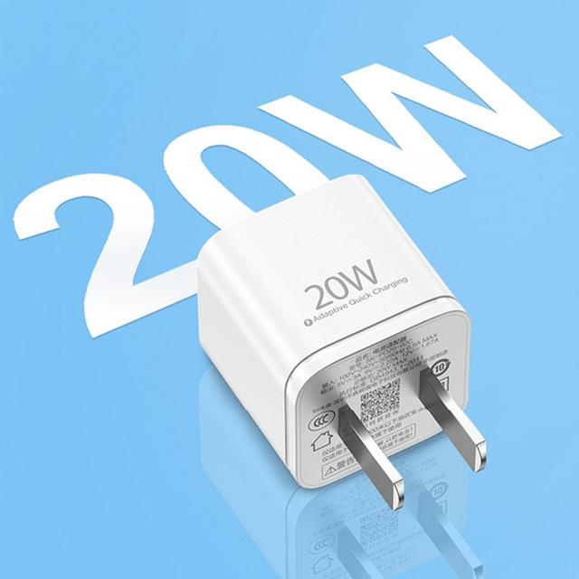 Pisen Quick Teeny 20W - siêu nhỏ dành cho iPhone 12 - Ảnh 3.