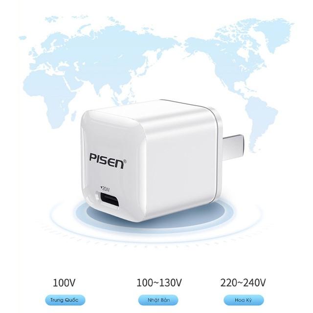 Pisen Quick Teeny 20W - siêu nhỏ dành cho iPhone 12 - Ảnh 4.