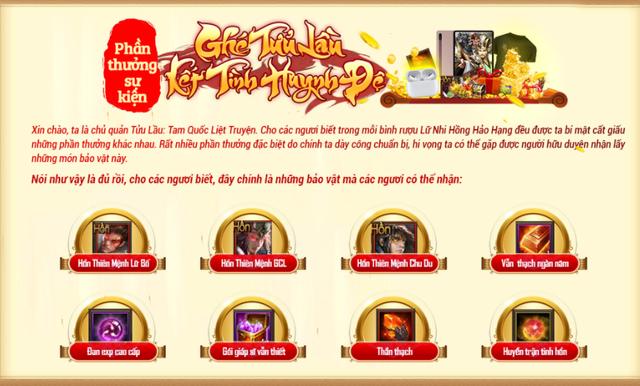 """Đại tiệc 6 tháng ra mắt thành công, Tam Quốc Liệt Truyện """"bạo chi cả trăm triệu"""" tặng quà người chơi - Ảnh 6."""