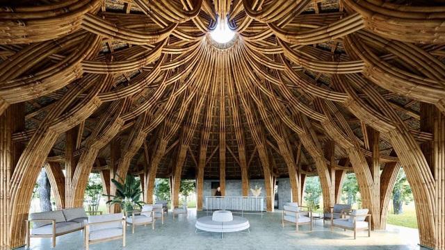 Hồn dân tộc trong ngôi Nhà tre lớn bậc nhất Đông Nam Á tại Vedana Resort - Ảnh 1.