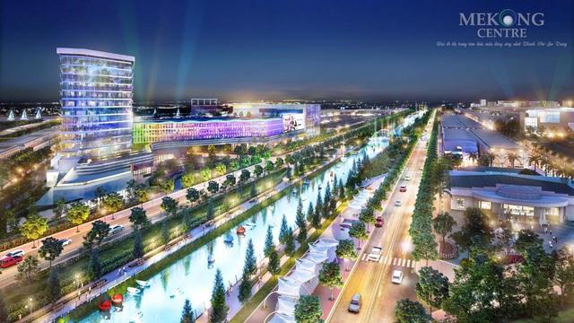 Hệ tiện ích sinh thái cao cấp dành cho giới thượng lưu tại Mekong Centre - Ảnh 1.