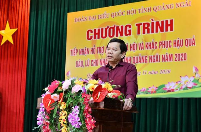 PVN cùng các đơn vị BSR và PVGAS hỗ trợ tỉnh Quảng Ngãi khắc phục thiệt hại do bão số 9 - Ảnh 3.