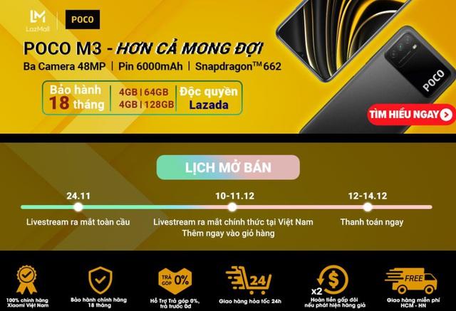 Đặt trước iPhone 12 hôm nay giảm hơn chục triệu đồng, các quái thú Xiaomi đua nhau giảm sốc đầu tháng 12 - Ảnh 5.