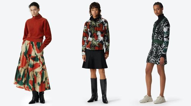 Duyên dáng KENZO: Khi tiết đông không ngăn được những chiếc váy kiêu kỳ - Ảnh 3.