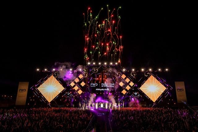 Dế Choắt tung lời Rap cực chất tại FWD Music Tour 2020 @TP. Đà Nẵng - ảnh 4