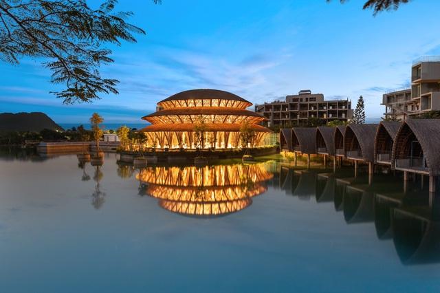Hồn dân tộc trong ngôi Nhà tre lớn bậc nhất Đông Nam Á tại Vedana Resort - Ảnh 3.
