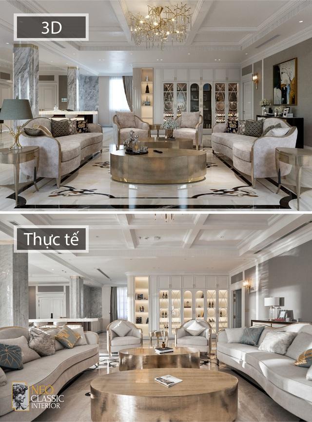 Penthouse Long An và thiết kế Tân cổ điển đẳng cấp hoàng gia - Ảnh 1.
