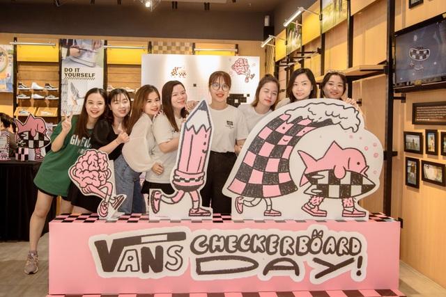 """Thỏa sức sáng tạo với Vans Checkerboard Day cùng thông điệp """"Creativity is good for your head"""" - Ảnh 7."""