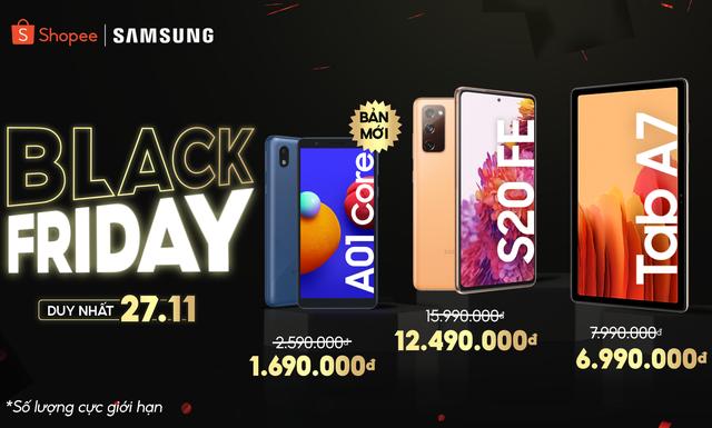 Trẩy hội Black Friday 27/11, Galaxy S20 FE chỉ còn 12.490.000 đồng - Ảnh 1.