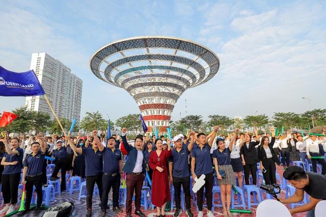 Hàng nghìn người tham dự Lễ ra quân dự án Khu đô thị Dương Nội - Ảnh 1.