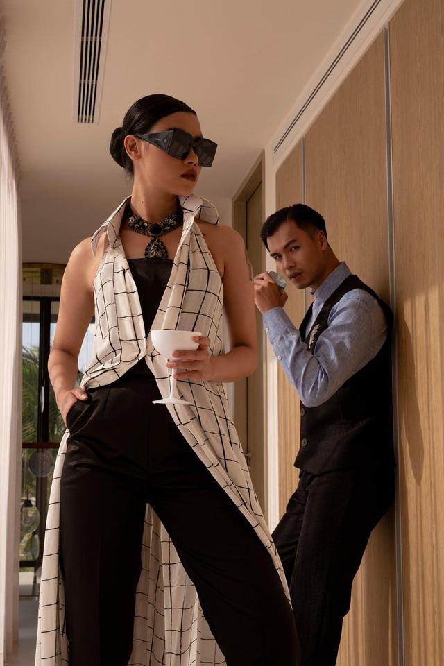 """Trước giờ G hé lộ những thiết kế gợi cảm của NTK Đỗ Long, MR CRAZY & LADY SEXY chắc chắn sẽ """"đốt cháy"""" sàn diễn Aquafina Vietnam International Fashion Week 2020 - ảnh 7"""