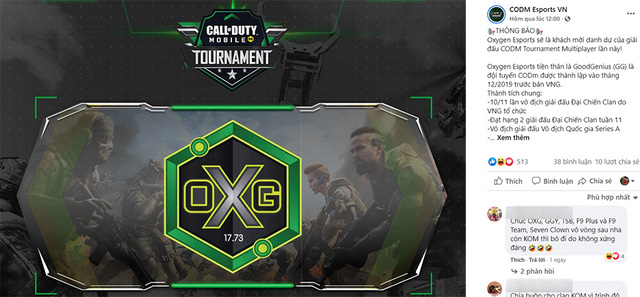 Gặp gỡ 02 đội tuyển khách mời danh dự của giải đấu Call of Duty Mobile Tournament Photo-1-1606451831178590841190